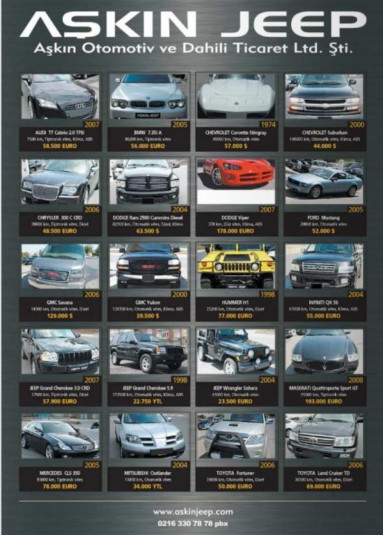 Firma etiketleri araba oto otomobil dergi oto dergisi arabam